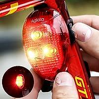 Aglaia - Lumière arrière LED pour vélo 40lumens phare arrière adapté à tous les vélos pour une sécurité optimale