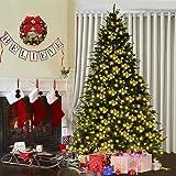 Amazon.com: Kurt Adler 7-1/2-Feet Pre-Lit Upside Down Tree: Home ...