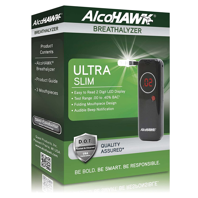 Amazon Com Alcohawk Ultra Slim Digital Breathalyzer Health