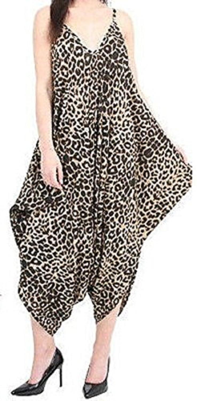 9defc848dcd Jumpsuits   Playsuits Momo Ayat Fashions Ladies Cami Lagenlook Romper Baggy  Harem Jumpsuit Playsuit UK Size 8-26