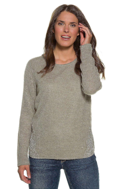 GINA LAURA Sweatshirt Mit Spitze Sudadera para Mujer