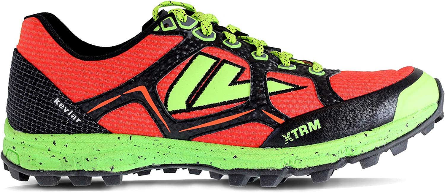 VJ XTRM OCR Shoes - Trail Running Shoes Women and Mens with a Full Length Rock Plate - Made for Rocky and Technical Mountain Trails and Obstacle Course Races (US Men's 7 | Women's 8.5)