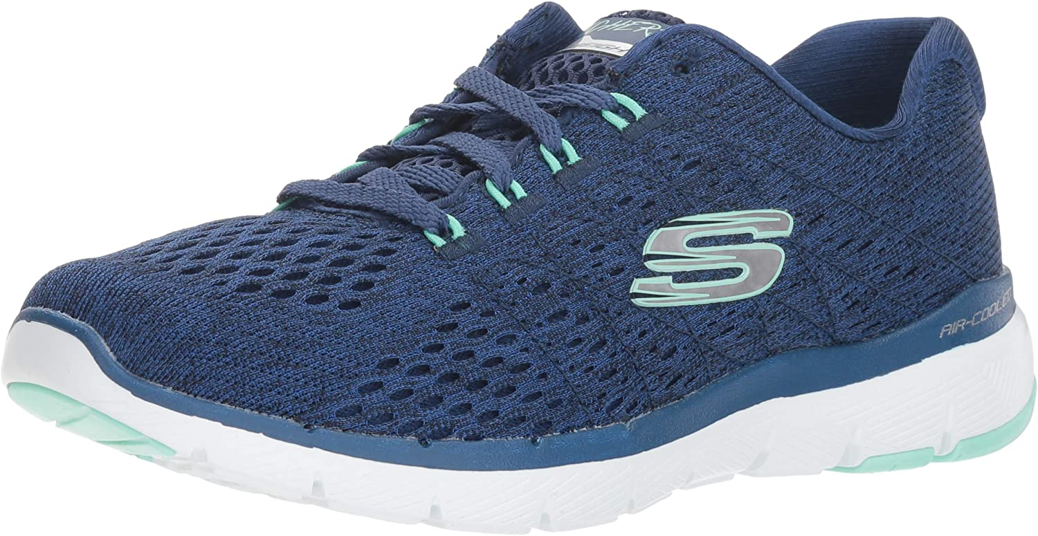 Skechers Flex Appeal 3.0-Satellites, Zapatillas para Mujer: Amazon.es: Zapatos y complementos