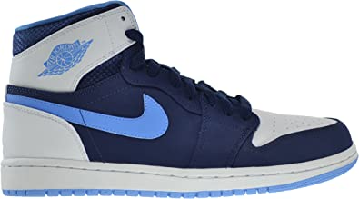 administración Solicitud Muerto en el mundo  Amazon.com | Jordan Air 1 Retro High Men's Shoes Midnight Navy/University  Blue-White 332550-402 (11 D(M) US) | Basketball