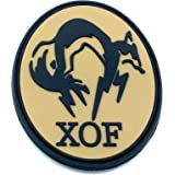 Patch PVC Motif XOF Foxhound Metal Gear Solid Pour Paintball