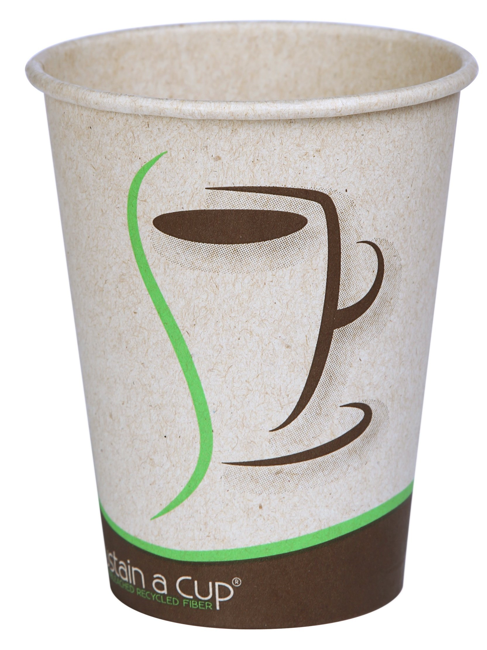 Moducup Sustain-A-Cup 16H -S2 Paper Hot Cup, Natural, 16 oz Capacity (Pack of 1000)