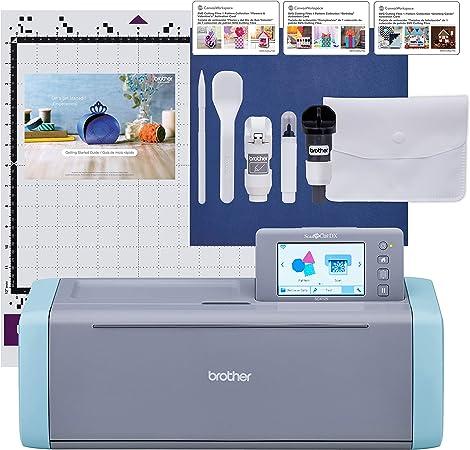 Brother SDX125E - Máquina de cortar, escáner, color gris y azul: Amazon.es: Hogar