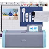 Brother ScanNCut SDX125E Electronic DIY Cutting Machine with Scanner, Make Custom Stickers, Vinyl Wall Art, Greeting Cards an