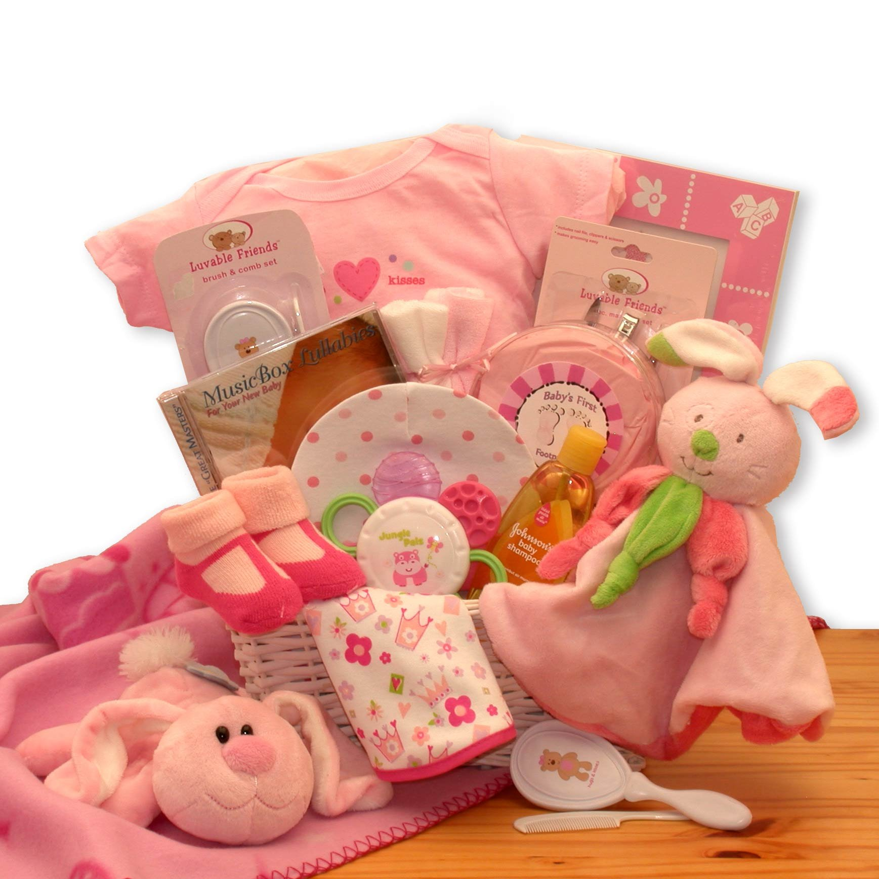 Hunny Bunny's Gift Basket for the New Baby