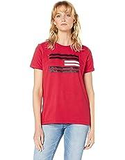 TOMMY HILFIGER Women's Flag Logo T-Shirt