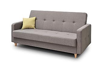 mb-moebel Couch mit Schlaffunktion Sofa Schlafsofa Wohnzimmercouch ...
