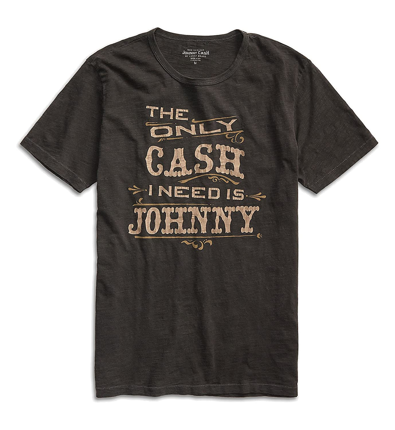 b30cbc8e1 Amazon.com: Lucky Brand - Men's - Faded Black Johnny Cash