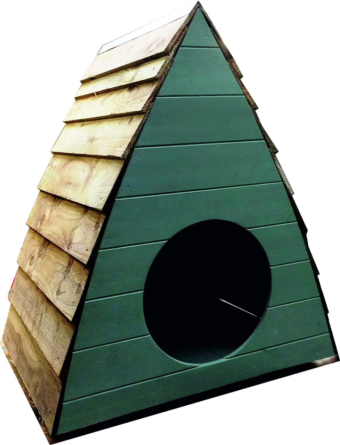Hand Crafted Gothic Arch Shaped Kennel