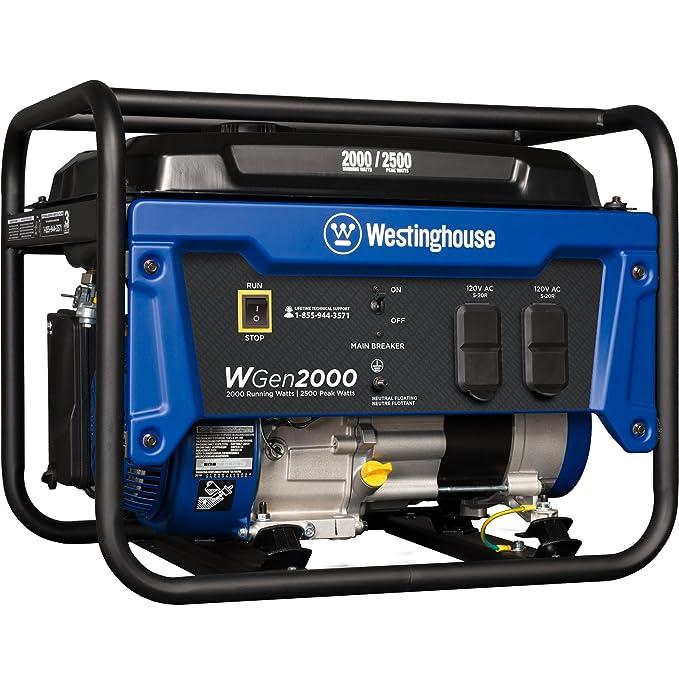 Best Generators for RV : Westinghouse WGen2000