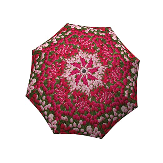 Vintage Style Parasols and Umbrellas LA BELLA UMBRELLA Tulips Designer Unique Travel Art Umbrella in Stylish Gift Box – Automatic/Manual/Stick $45.00 AT vintagedancer.com