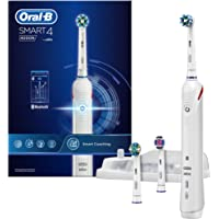 Oral-B SMART 4 4000 Rechargeable Electric Toothbrush – Powered by Braun
