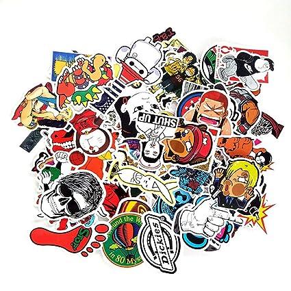Amazoncom 100pcs Anime Movie Painted Sticker Refrigerator