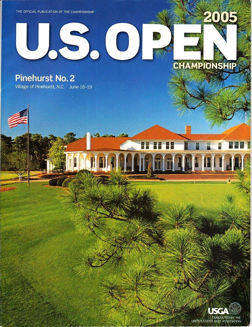 U. S. Open Championship 2005 Official Program Pinehurst No. 2 June 16-19 ebook