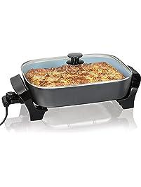 Amazon Com Electric Skillets Home Amp Kitchen