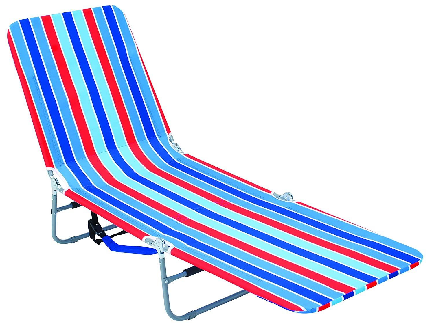 Plastic outdoor lounge chairs - Rio Brands Backpack Lounger Multi Position