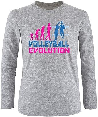 EZYshirt® Volleyball Evolution Herren Longsleeve