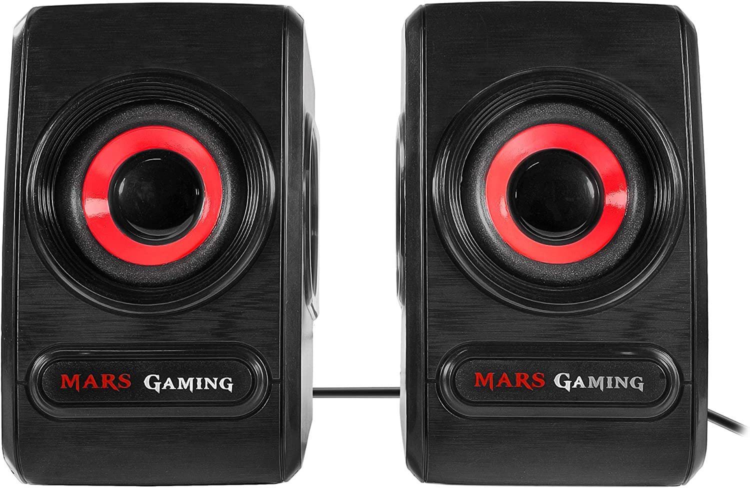 Mars Gaming MRS0, altavoces 10W, subwoofer, conector directo auriculares, USB