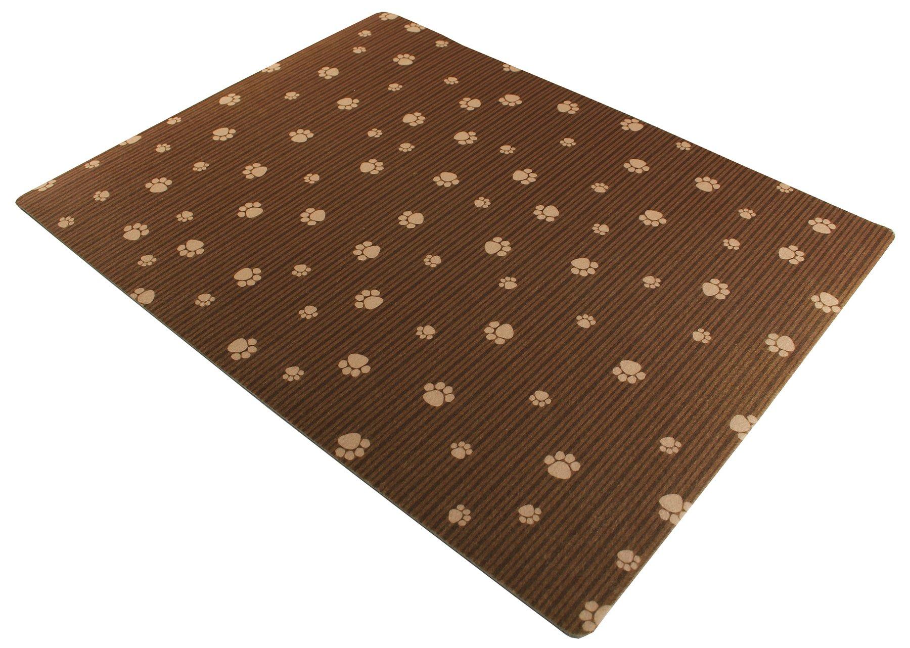 Drymate Dog Crate Mat, 23'' x 36'', Brown