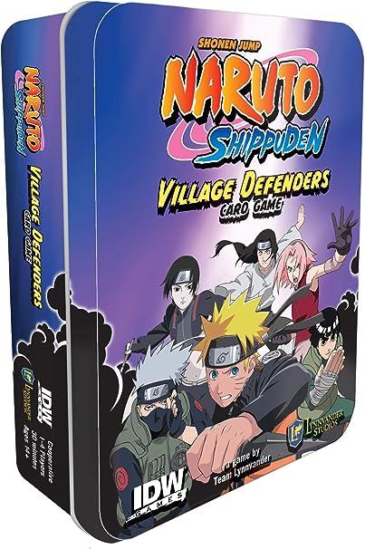 Amazon.com: IDW Games Naruto Shippuden: Defensores del ...