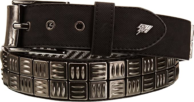 BBBelts Men Silver Finish Textured Casual 3 Part Western Replacement Buckle