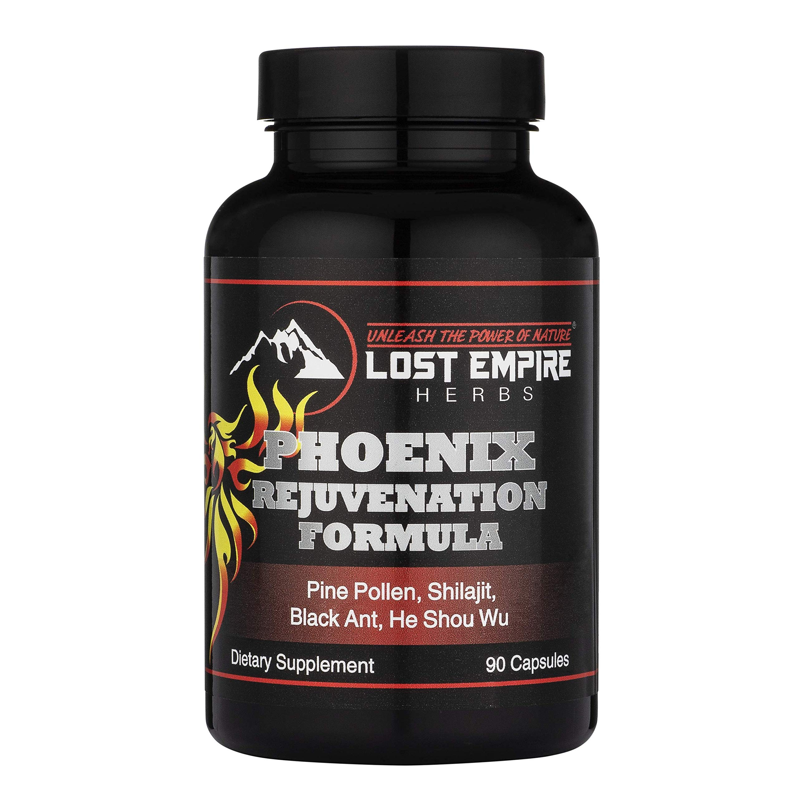 Phoenix Rejuvenation Formula (Capsules 90 Count) Discover Ancient Herbs in a New, Modern Formula to Combat Physical and Mental Decline