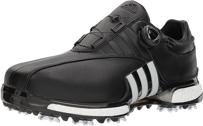 adidas Men's TOUR360 EQT Boa Golf Shoe, FTWR White/core Black, 10.5 Medium US