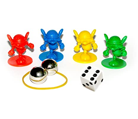 larger 3 MouseTrap Replacement Steel Balls For Hasbro Board Game