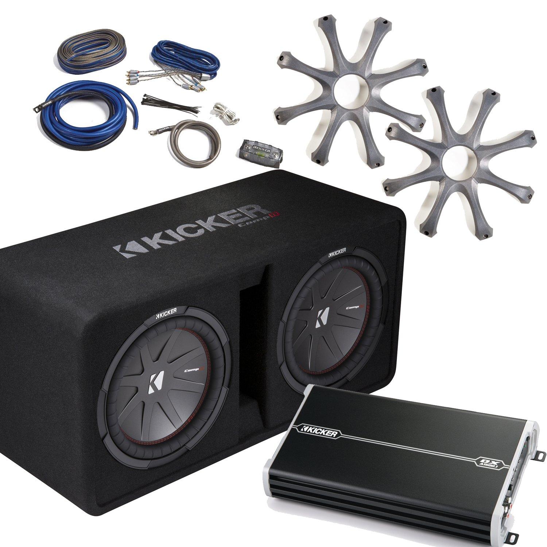 Amazon.com: Kicker Bass Package - 43DCWR122 Dual 12\
