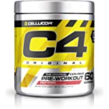 Cellucor, C4 Original Pre Workout Powder with Creatine, Nitric Oxide, Beta Alanine and Energy, G4v2, Fruit Punch, 60 Servings (New Formula)
