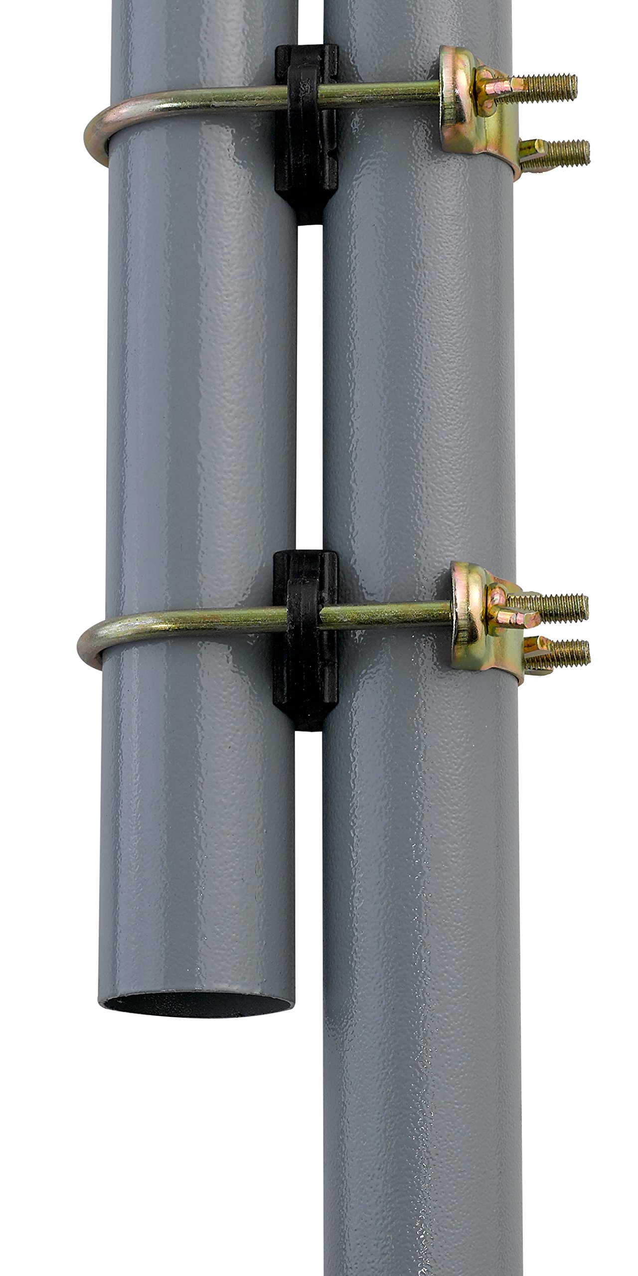 Upper Bounce Trampoline Enclosure Pole Connecter, Fits for Poles Measuringup to 1.5'' Diameter, Andup to 1.75'' Diameter Leg by Upper Bounce (Image #6)