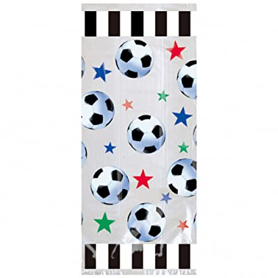 American Balloon Company Soccer Party Goody Bags - Soccer Party Favors Bag - 20 Count: Toys & Games