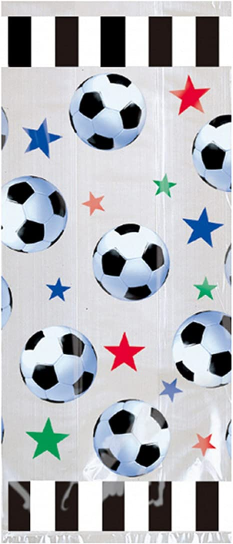 Soccer Party Goody Bags Soccer Party Favors Bag 20 Count Amscan SG/_B0029782OS/_US
