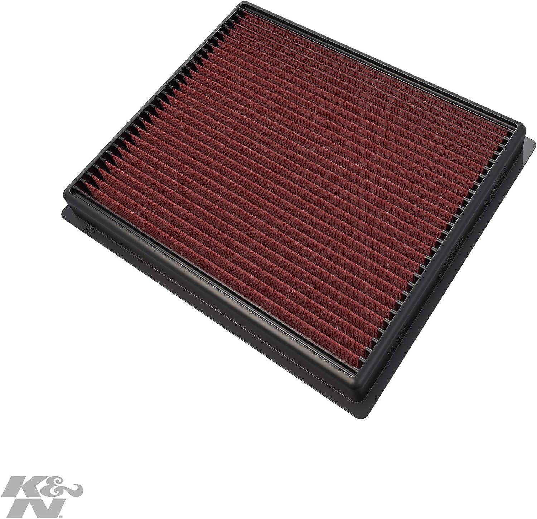 K/&N 33-5017 Voiture Filtre /à Air de Remplacement Lavable et R/éutilisable