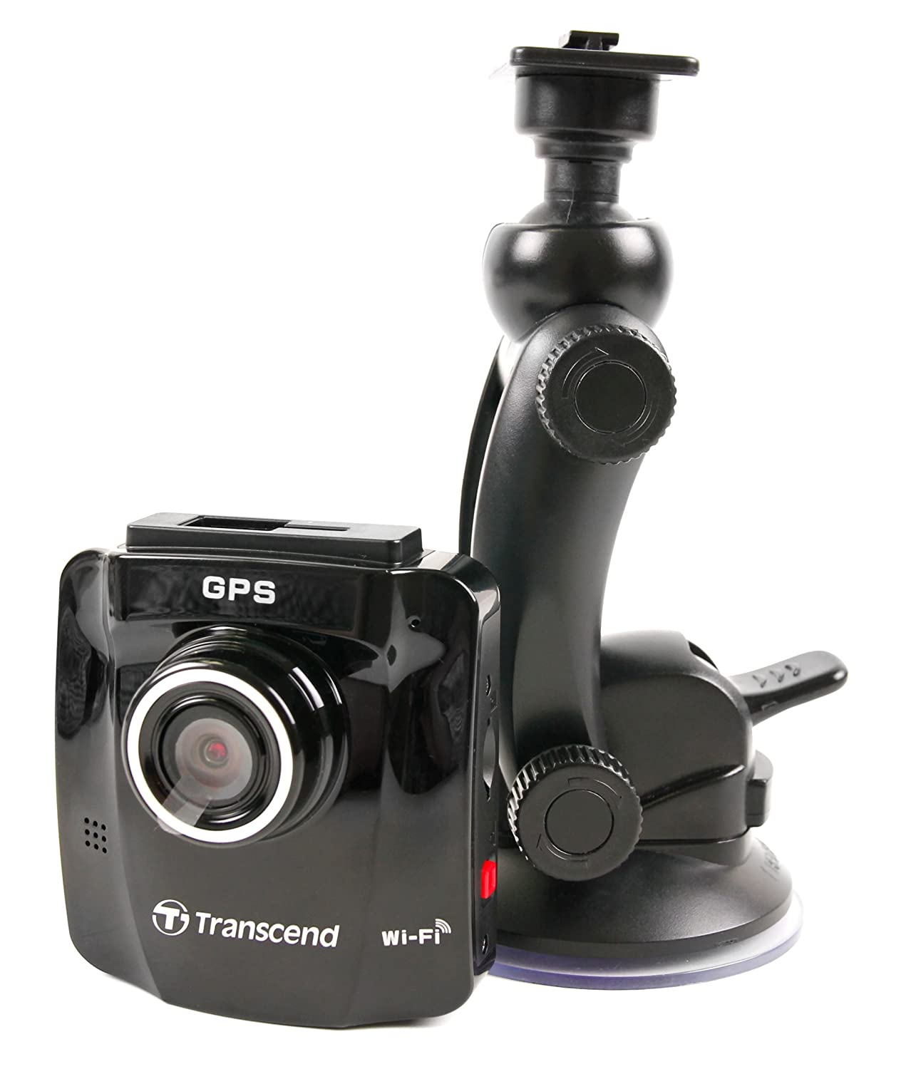 DURAGADGET Premium Quality in-Car Windscreen & Dashboard Suction Mount - Compatible with The New Transcend DrivePro 220 / DrivePro 200 / DrivePro 100 / DrivePro 520 / DrivePro 50 Dash Cams