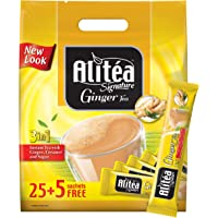 Alitéa Signature Ginger Tea Pouch 20g (25 + 5 Free Sticks) - Promo Pack