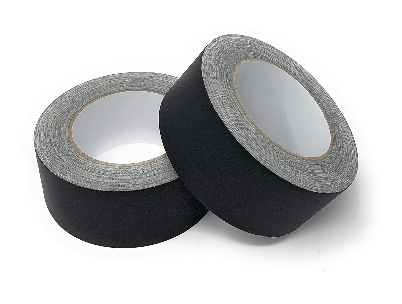 APT Heavy Duty Gaffer Tape, Residue Free 2 Inch X 90 Feet, Black Outdoor/& Indoor. 2
