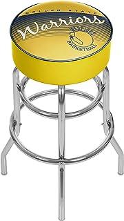 Trademark Global NBA Golden State Warriors Hardwood Classics Bar Stool