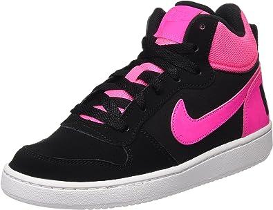 Nike Court Borough, Chaussures de Sport - Basketball Fille