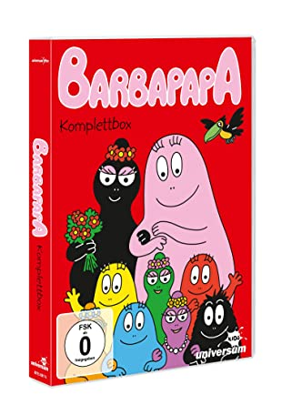 Barbapapa Komplettbox