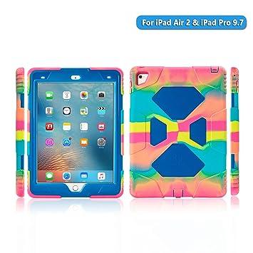 Amazon.com: Funda para iPad Air 2 iPad Pro 9.7 de cuerpo ...