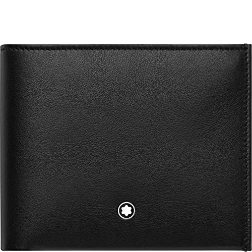 Montblanc Nightfligh, Cartera-Monedero Unisex Adulto, Negro ...