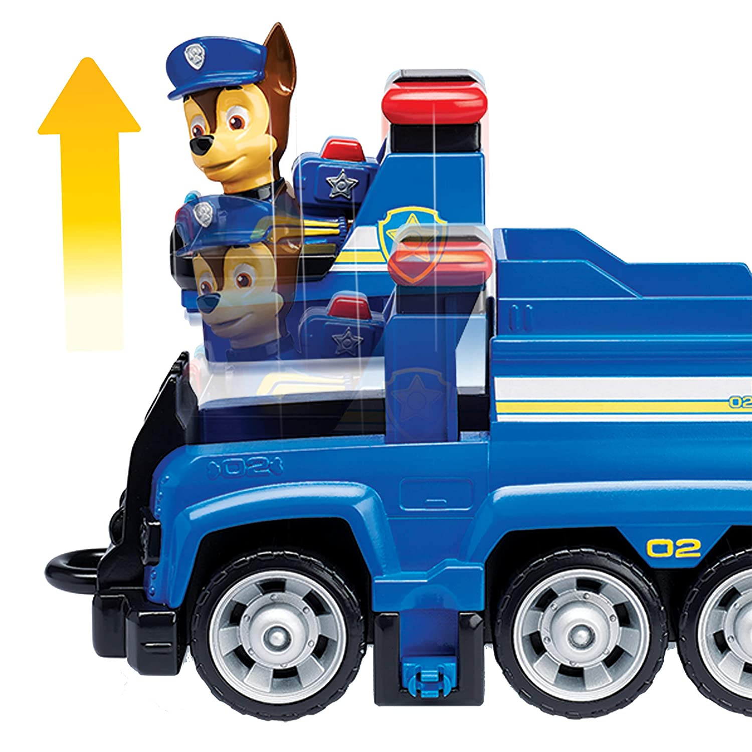 Paw Patrol 6054118 Chase?s Patrol Cruiser Vehicle With Collectible Figure 3