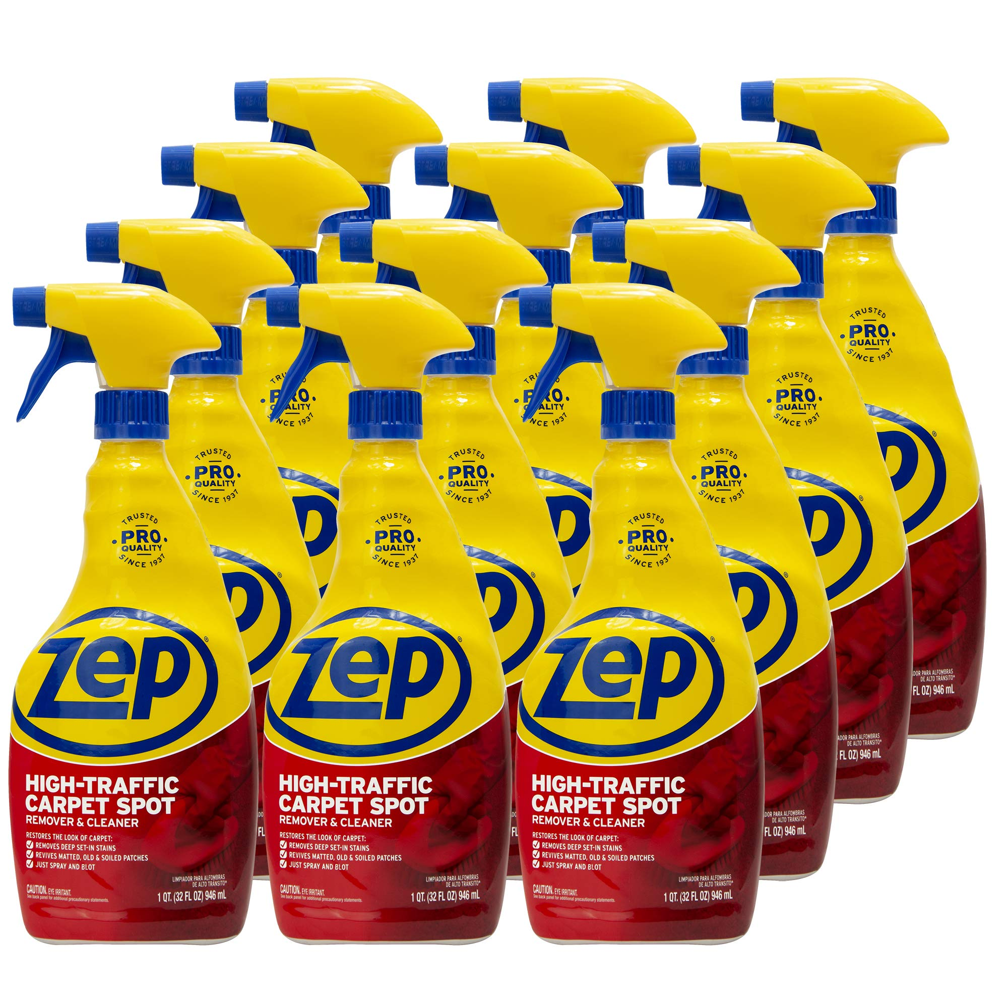 ZEP High Traffic Carpet Cleaner 32 Ounces ZUHTC32 (Case of 12) by Zep (Image #1)