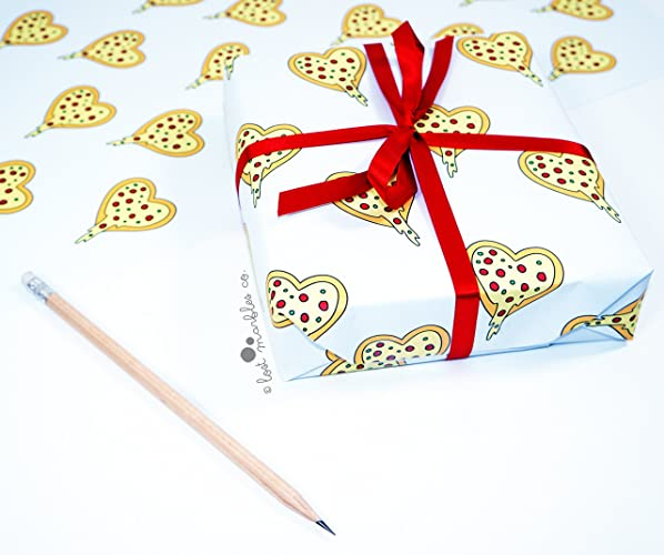 Funny gift wrap pizza wrapping paper amazon handmade funny gift wrap pizza wrapping paper negle Gallery