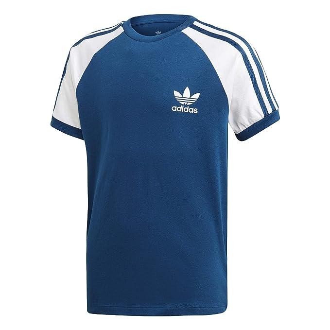 Adidas ORIGINALS 3 Stripes Tee Short Sleeve T Shirt Age 9 10